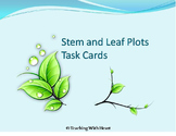 Stem and Leaf Plot Activity - Center Activity - Task Cards - Daily Problem