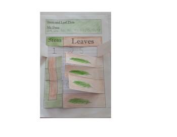 Stem and Leaf Plot Foldable