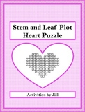 Stem and Leaf Plot Heart Puzzle FREEBIE