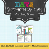 Stem-and-Leaf Plot to Histogram Matching Game