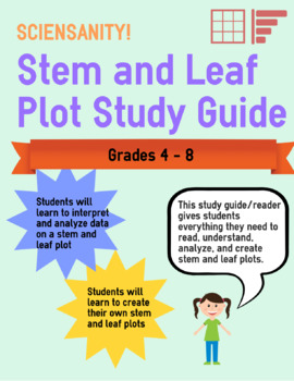 Stem and Leaf Plot Study and How-To Guide