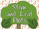 Stem and Leaf Plots Ready to Go Games