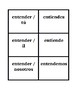Stem Changing Verbs Present tense in Spanish Concentration games