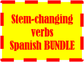 Stem-changing Verbs in Spanish Bundle