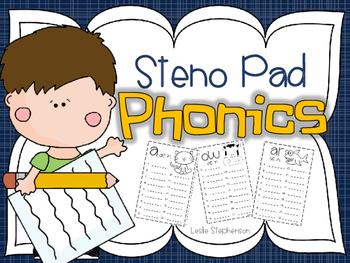 Steno Pad Phonics