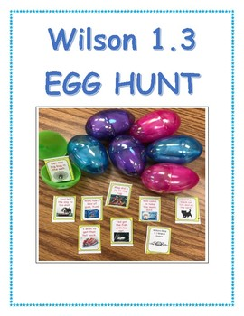 Step 1.3 EGG HUNT (and more) ACTIVITIES