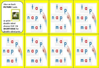 Step 1.4 Decodable Sentences MATCH game or PART 5 of Lesson (sentence reading)
