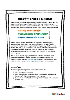 Inquiry-based Learning - Step 1 _Deciding