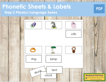 Step 2: Phonetic Sheets & Labels