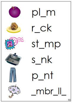 Step 2: Phonetic Vowel Sound Cards