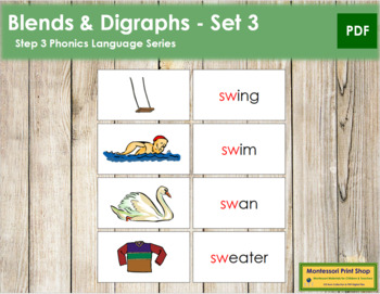 Step 3: Blends and Digraphs - Set #3
