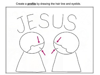 Step-By-Step Art Lesson – At the Name of Jesus Every Knee Should Bend