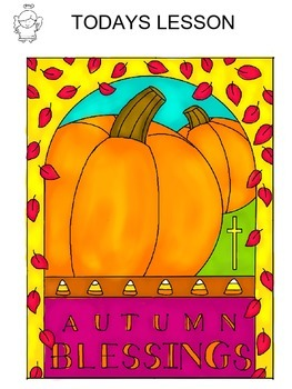 Step-By-Step Art Lesson – Autumn Blessing