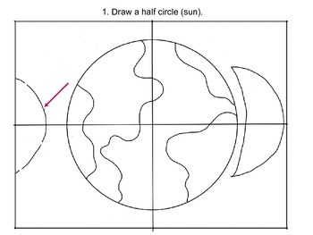 Step-By-Step Art Lesson – Creation, Earth