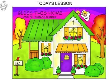 Step-By-Step Art Lesson – House Blessing