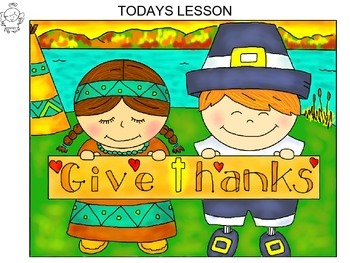 Step-By-Step Art Lesson – Thanksgiving Scene