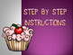 Step By Step Creating a Clay Cupcake PowerPoint (Wayne Thiebaud Inspired)