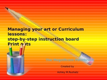 Step-By-Step Instructional Board