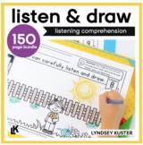 Listen and Draw Bundle - Listening Comprehension