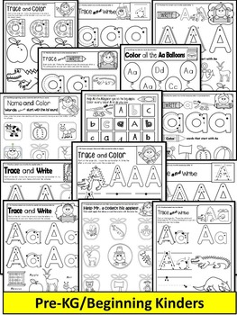 Letter of the week-LETTER A Activity PACK-letter recognition & identification