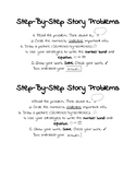 Step-By-Step Story Problem Solving