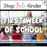 First Week of Kindergarten Activities