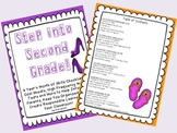 Step Into Second Grade! EDITABLE Common Core Checklists, Goal Sheets & More!