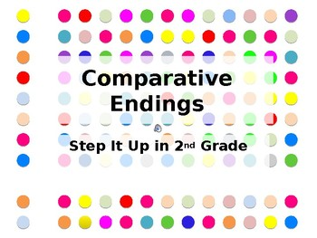 Step It Up in Second: Comparative Endings
