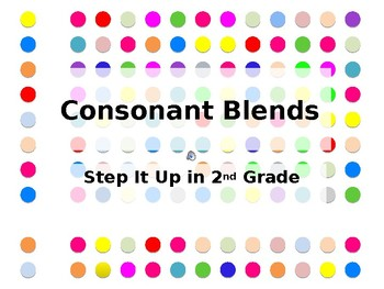 Step It Up in Second: Consonant Blends