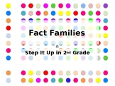 Step It Up in Second: Fact Familes Fluency Practice