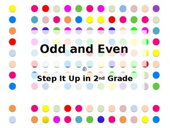 Step It Up in Second: Odd/Even