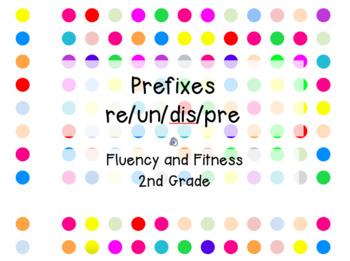 Step It Up in Second: Prefixes Fluency Practice