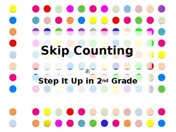 Step It Up in Second: Skip Counting