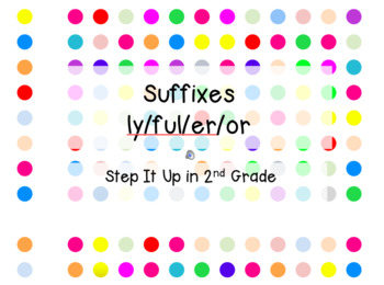 Step It Up in Second: Suffixes Fluency Practice