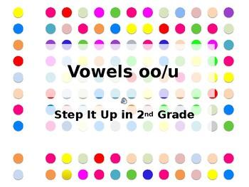 Step It Up in Second: oo/u Vowel Teams Fluency Practice
