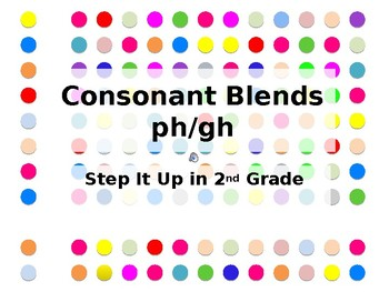 Step It Up in Second: ph/gh Consonant Blends Fluency Practice