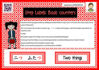Step Labels: Basic Counters