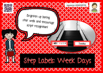 Step Labels: Days of the week