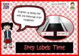 Step Labels: Time