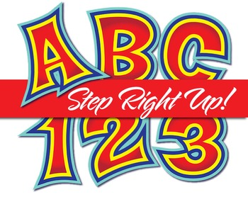"""Step Right Up!!! County Fair Alphabet - 91 - 300 DPI - PDF & PNGs - 3.75"""" High"""