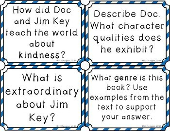 Step Right Up Discussion Question Cards