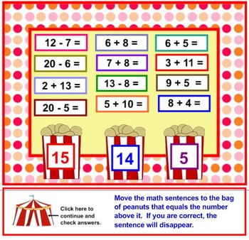 Step Right Up For Circus Math
