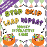 Step, Skip, Leap, Repeat – Interactive Music Game [HALLOWEEN]