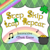 Step, Skip, Leap, Repeat – Music Game for Google Slides [S