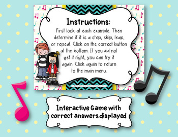 Step, Skip, Leap, and Repeat - Interactive Identification Game