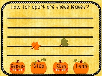 Step, Skip, Leap, or Repeat? Fall Themed Interactive Interval ID Game