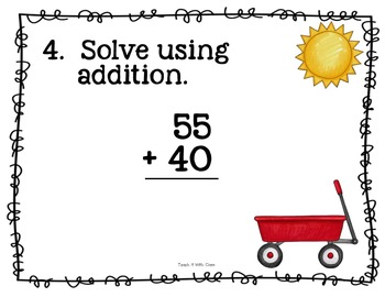 Step & Solve:  Math Review Around the Room (Almost Summer)