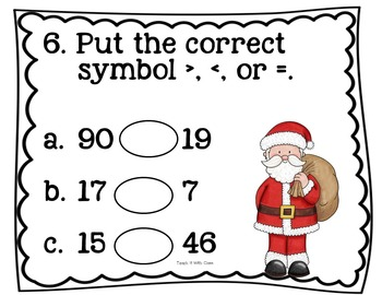 Step & Solve: Math Review Around the Room (Christmas)