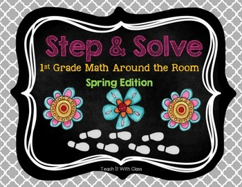 Step & Solve: Math Review Around the Room (Spring)