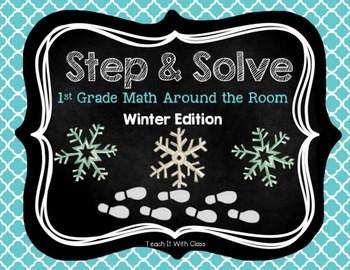 Step & Solve: Math Review Around the Room (Winter)